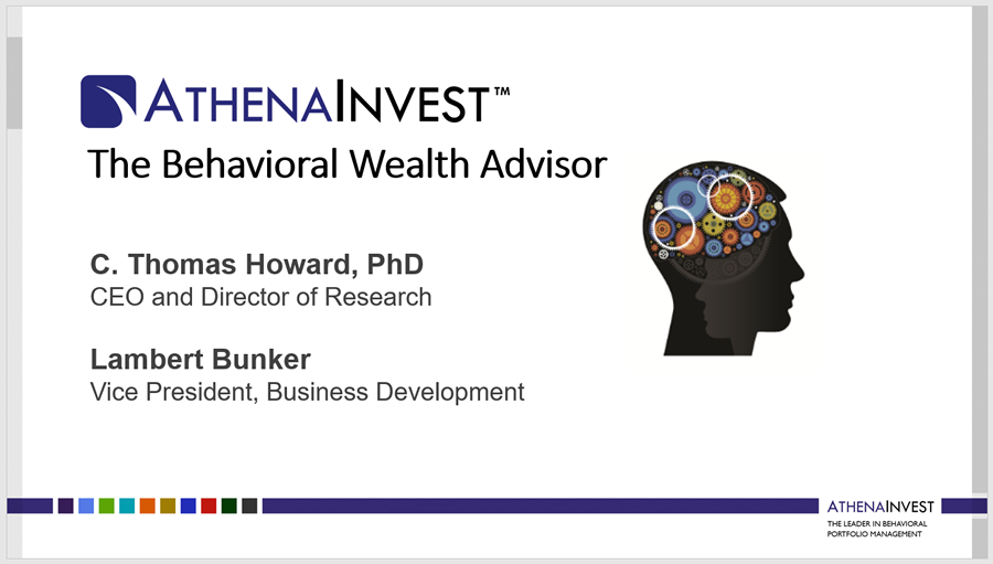 The Behavioral Wealth Advisor Webinar
